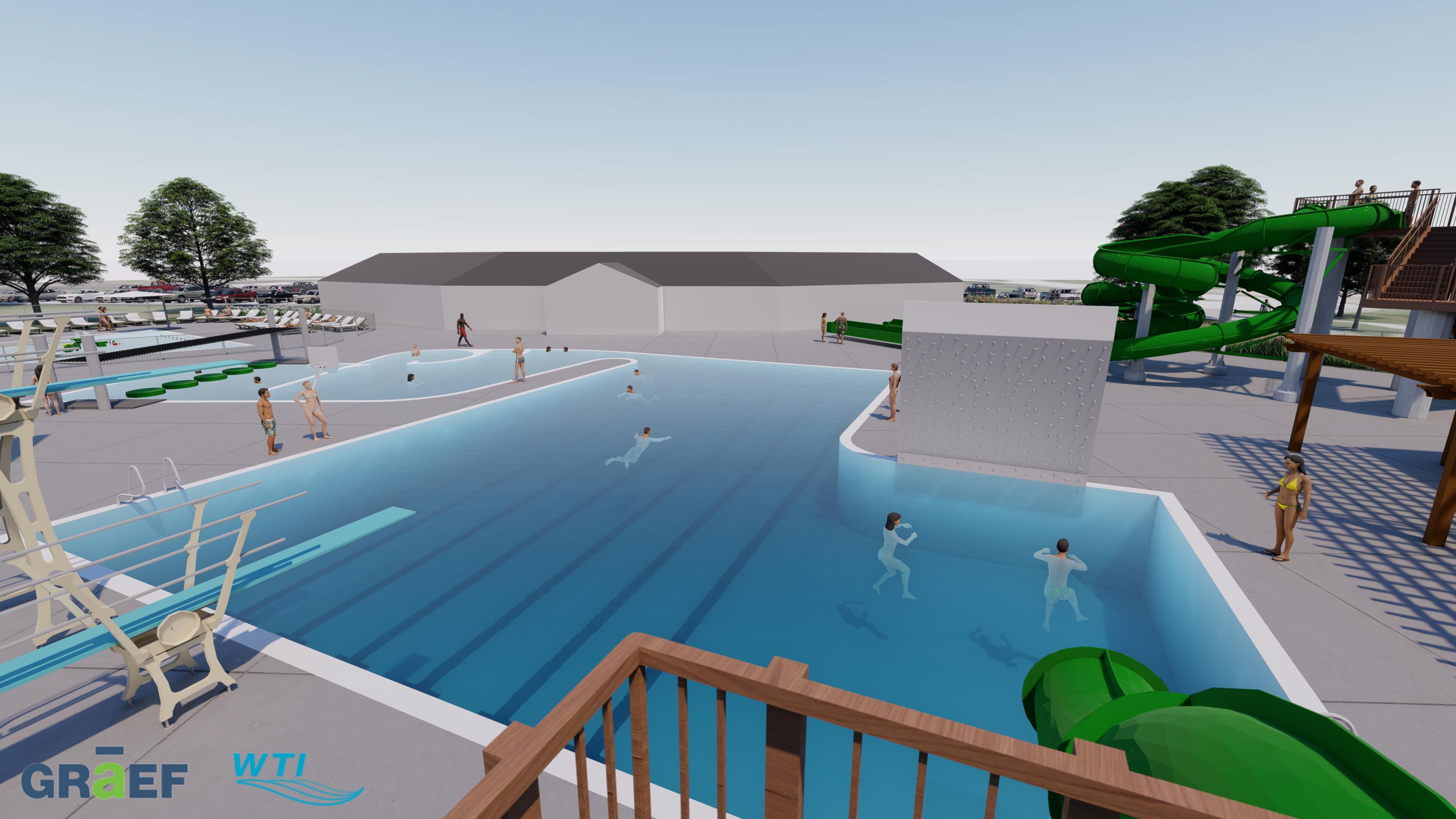 Slideshow Vfw Aquatic Facility Renderings De Pere Wisconsin