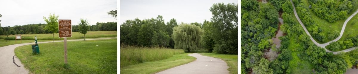 east river trail de pere